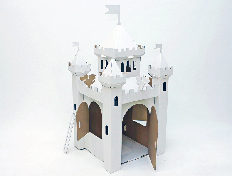 Замок из картона_01