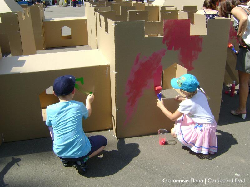 Cardboard maze_018 копия