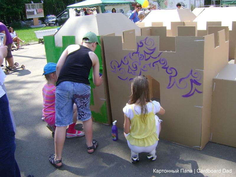 Cardboard maze_020 копия