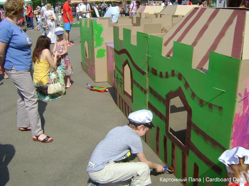 Cardboard maze_028 копия