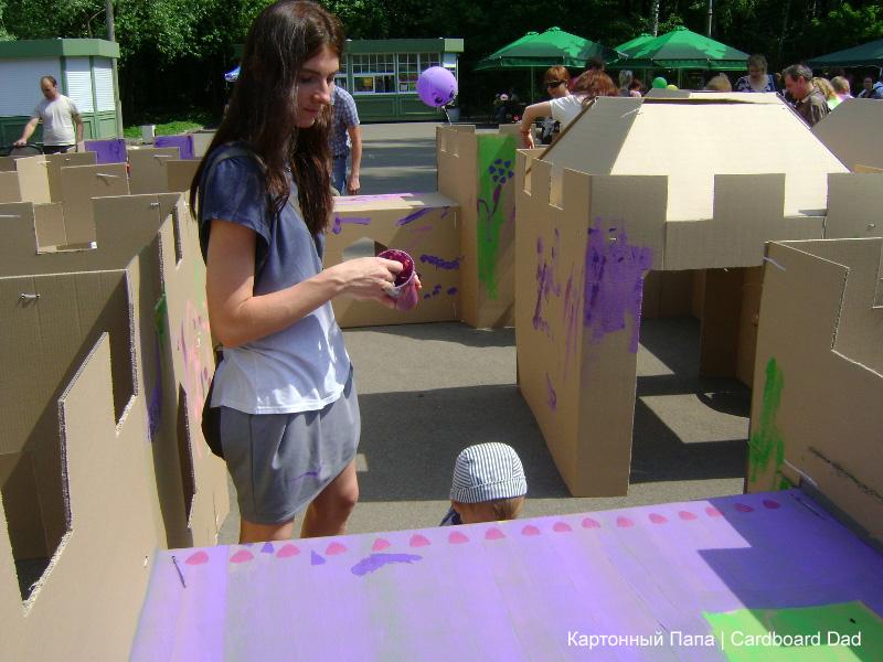 Cardboard maze_032 копия