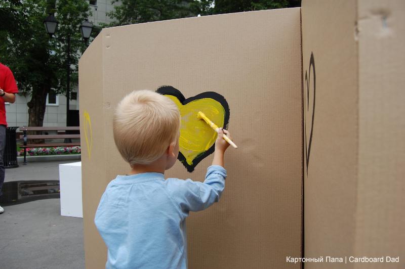 Cardboard paint_008