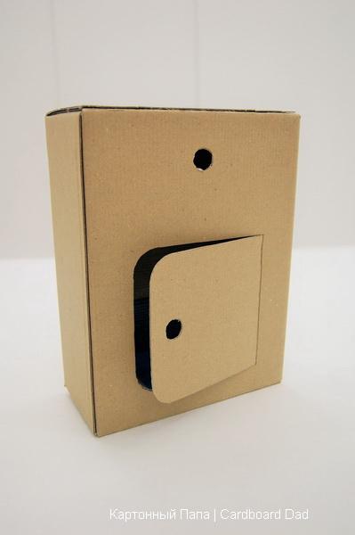 Сделать из картона почтовый ящик своими руками