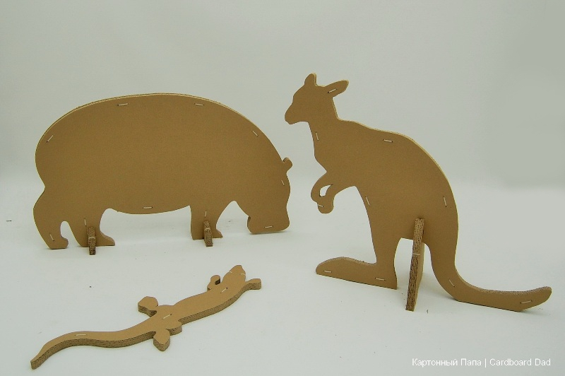 Cardboard animals_03