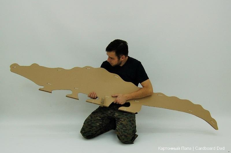 Cardboard animals_05