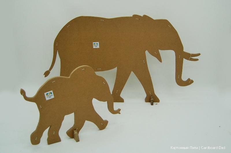 Cardboard animals_08