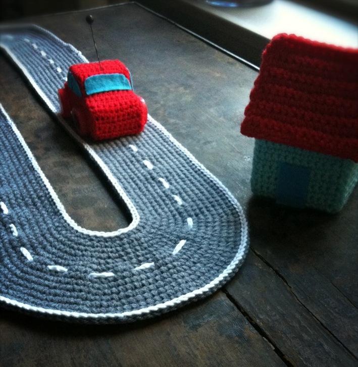circuit de voiture au crochet