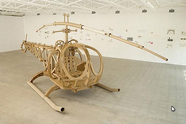 Вертолетик из картона своими руками 29