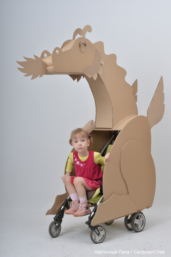 Cardboard dragon_004