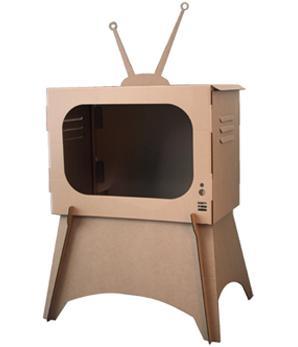 cardboard-TV
