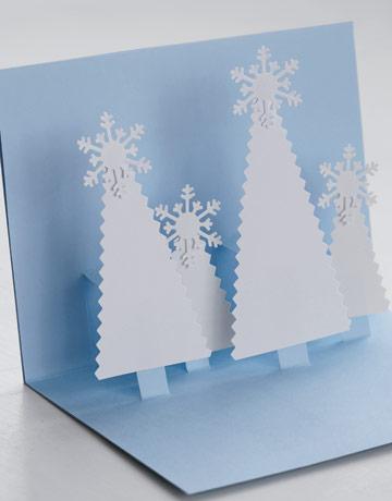 Объемные открытки своими руками новогодние