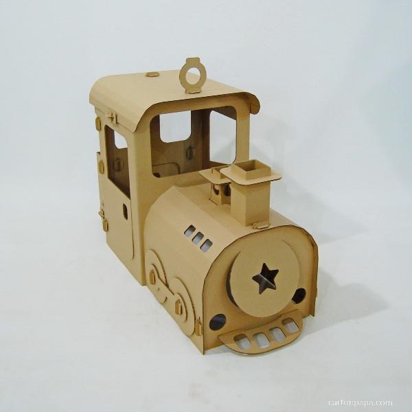 Cardboard steam trane_01