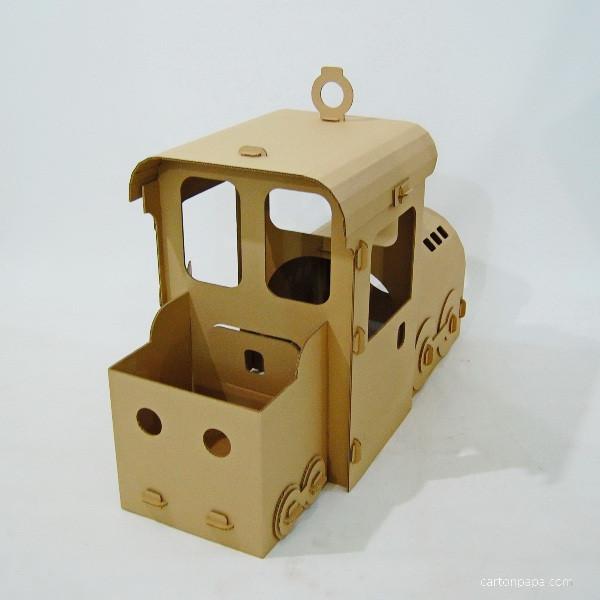 Cardboard steam trane_02