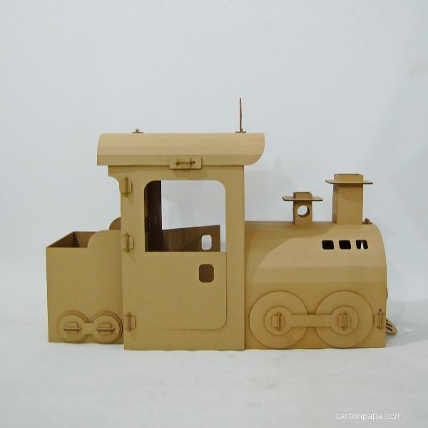 Cardboard steam trane_03
