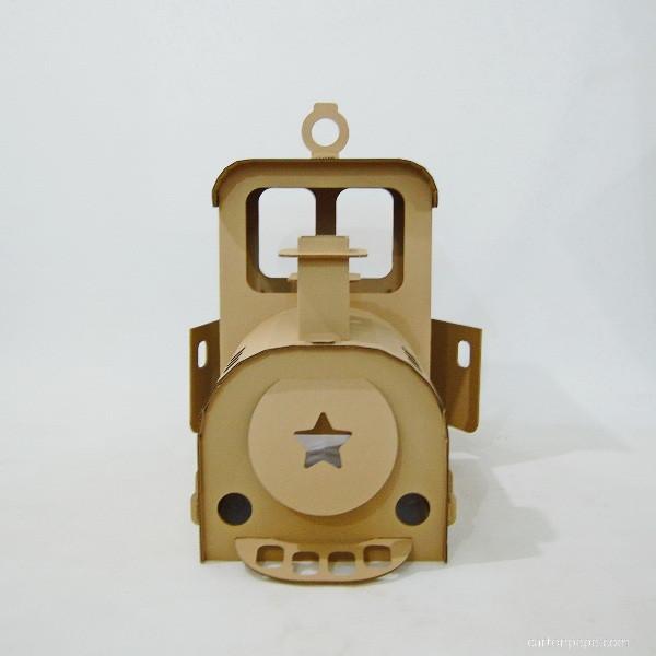 Cardboard steam trane_04