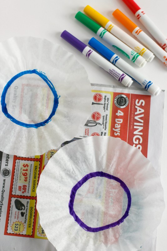 Coloring-Coffee-Filters-with-Markers