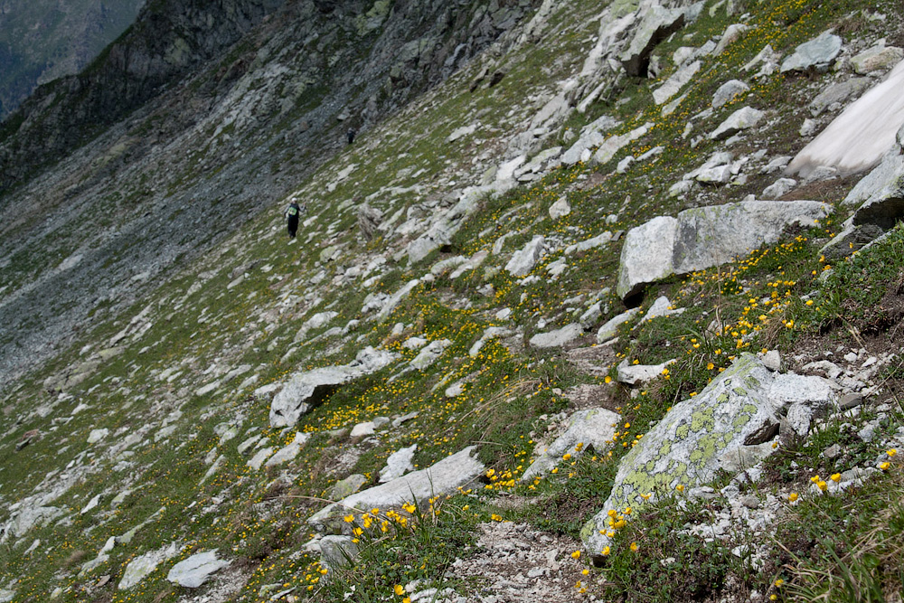 перевал Муруджинские озера
