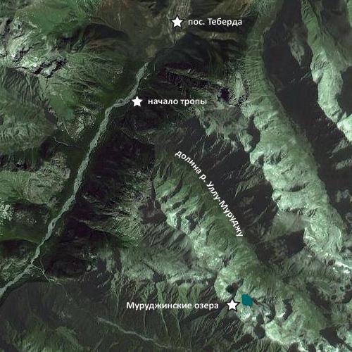 Муруджинские озера как попасть