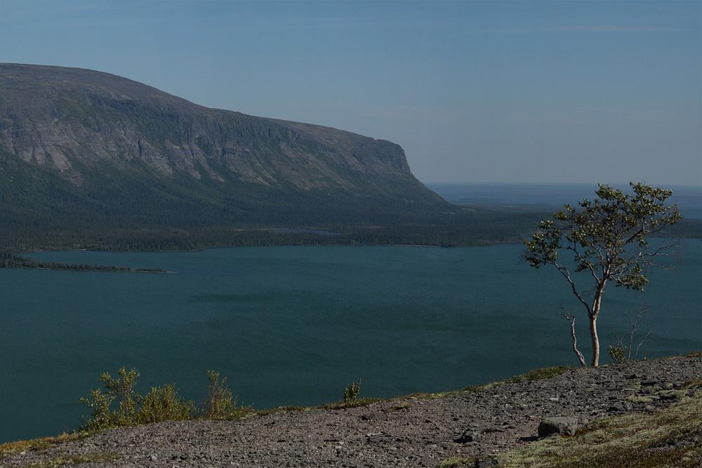 Ловозеро вид сверху