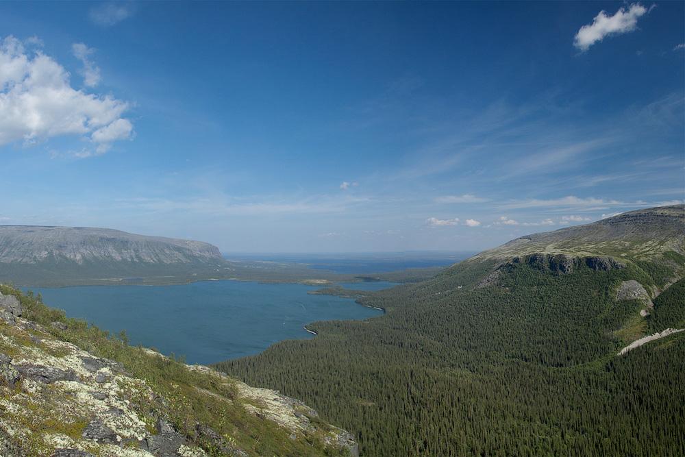 Ловозеро устье Чивруай