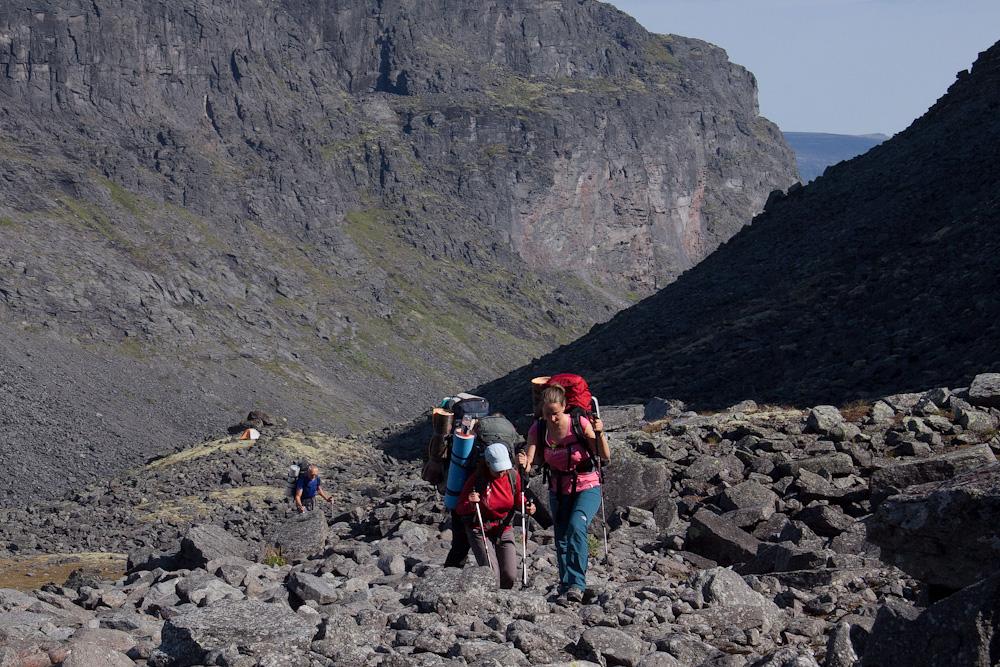 подъем на перевал Чивруай-Ладв