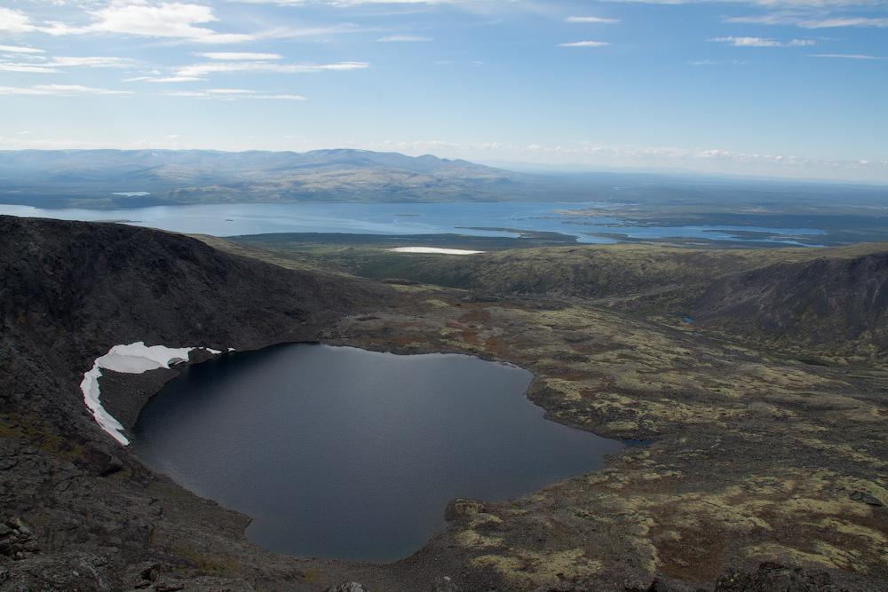 озеро Горное Ловозеры