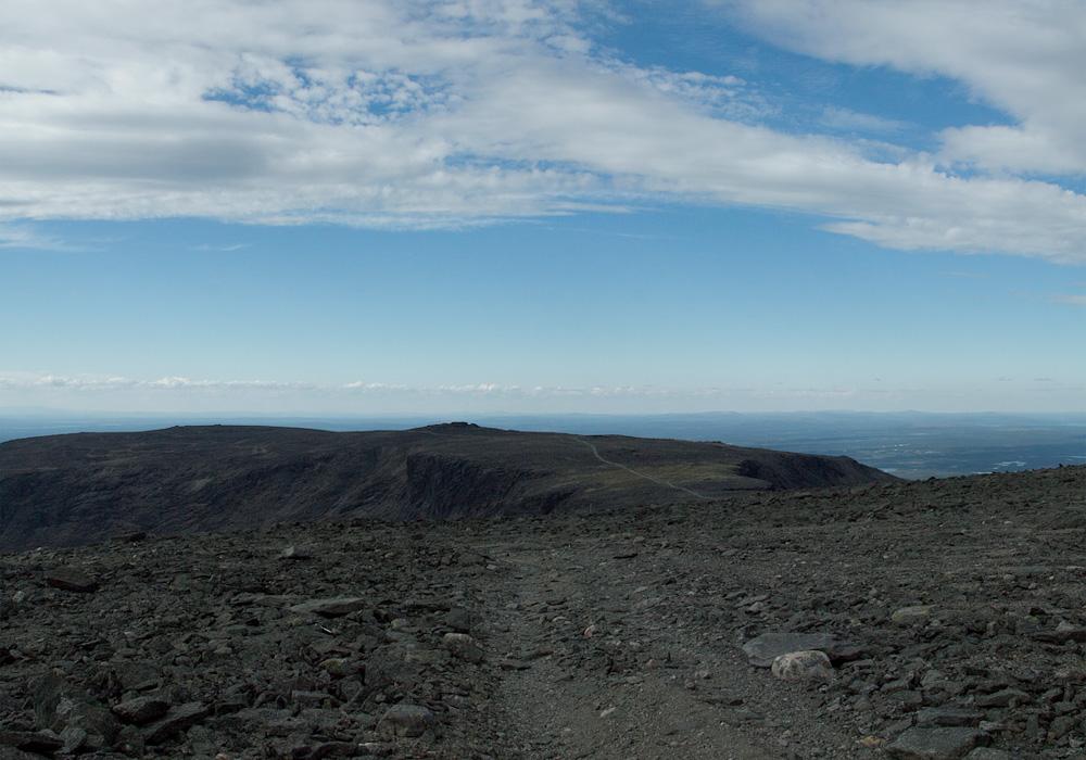 дорога через перевал Геологов Ловозеры