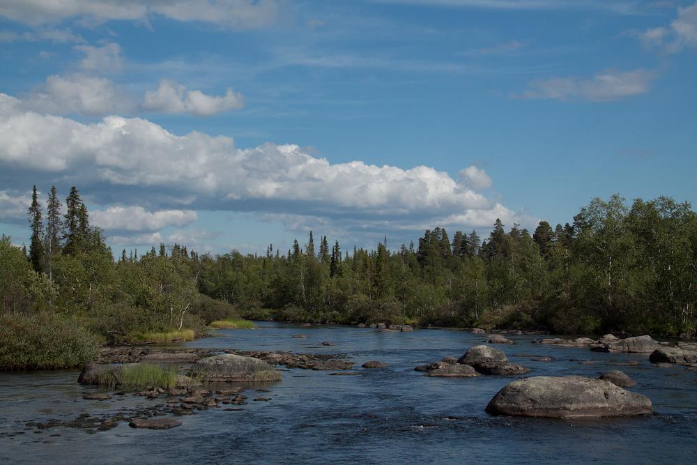 река Сура Умбозеро