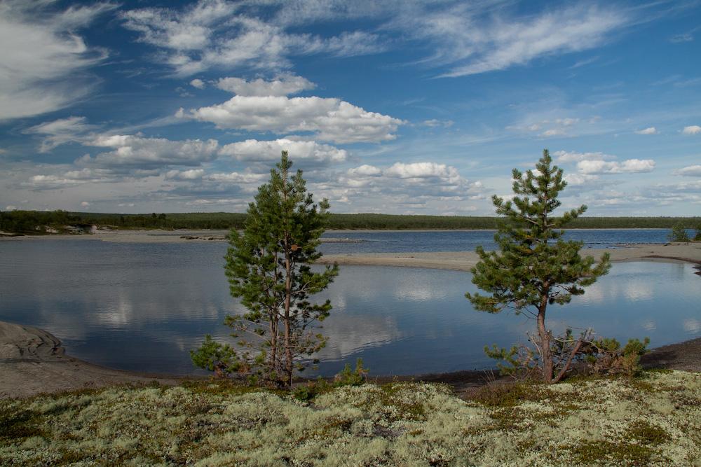 озеро Нижнее Чудозеро