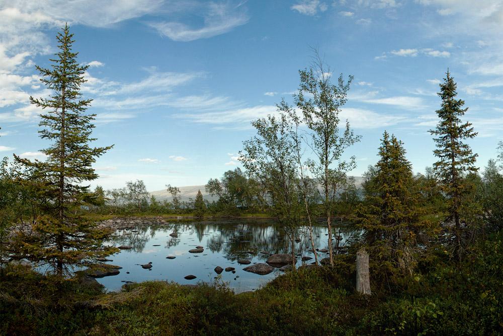 Умбозеро западный берег