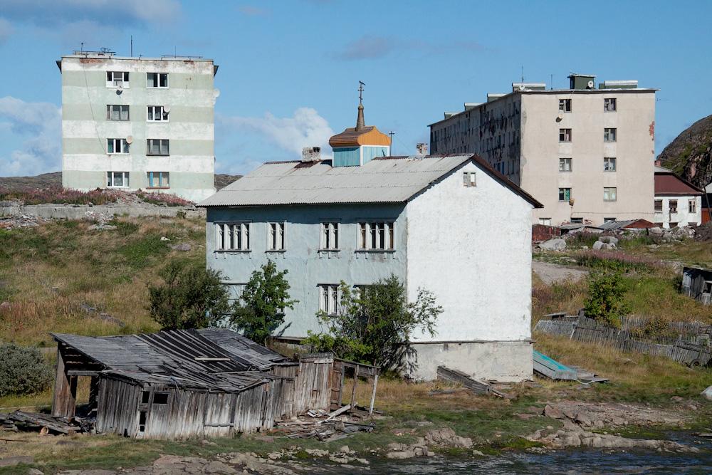 Териберка церковь