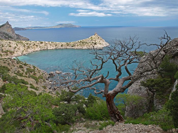 Крым. Голубая бухта