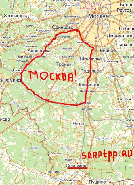 Москва расширяется