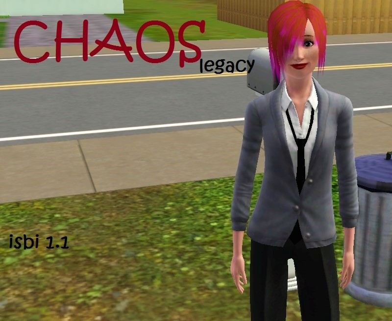 Chaos Legacy cover