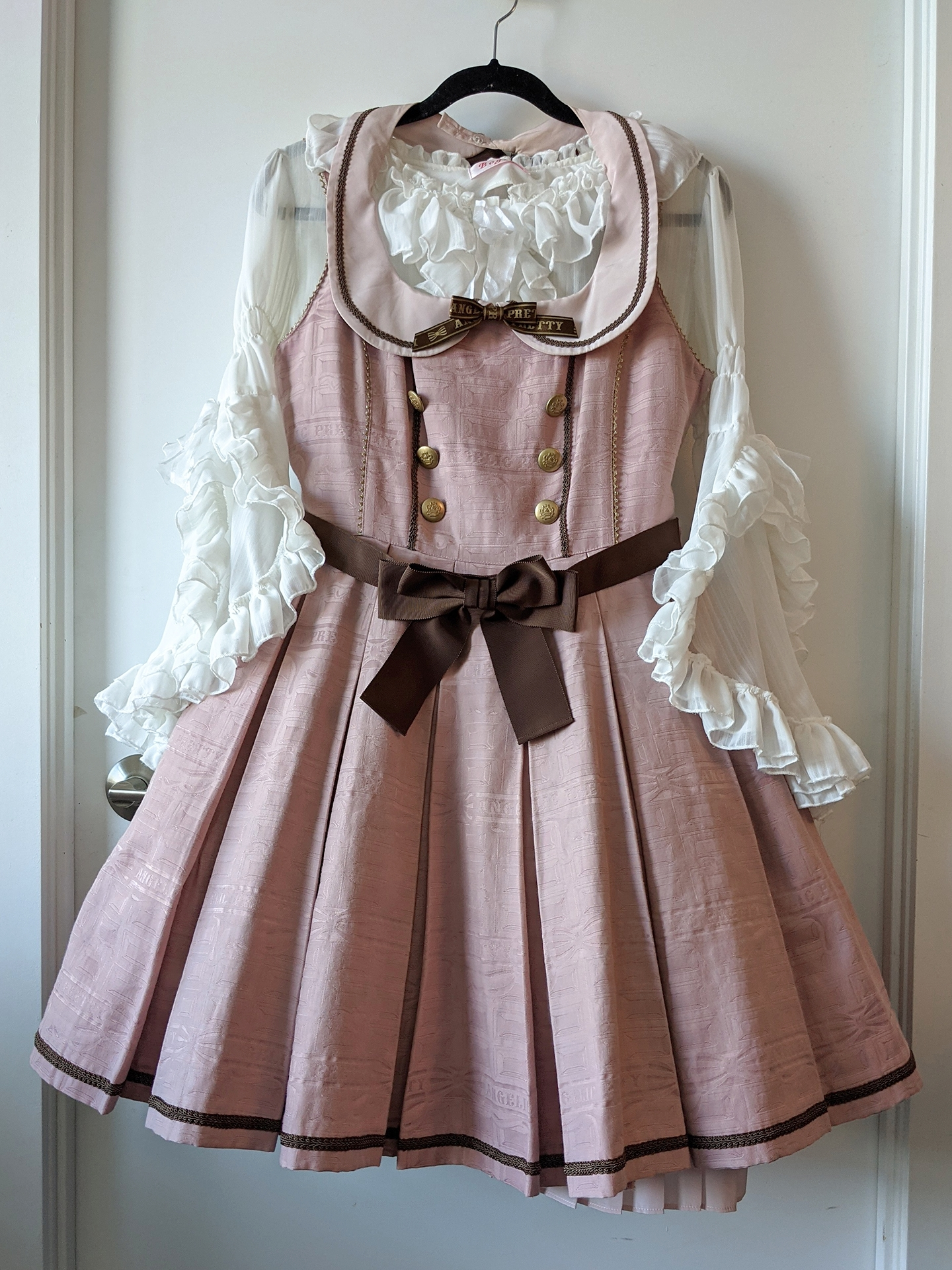 Melty Royal Chocolate by Angelic Pretty, blouse from Taobao