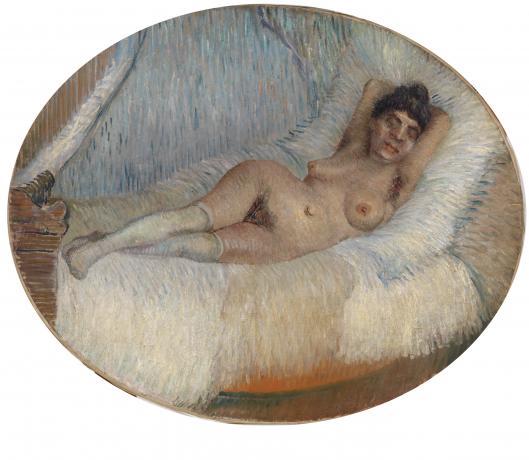 reclining van gogh