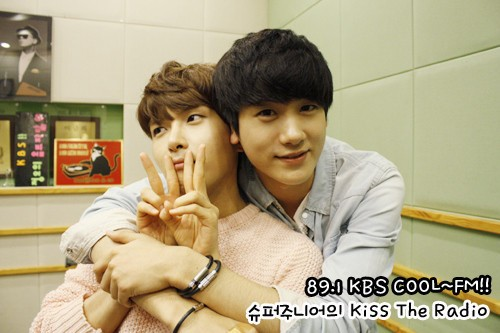 Super ZE:A love! Ryeowook and Heechul fanboy over Hyungsik ...Hyungsik Heirs
