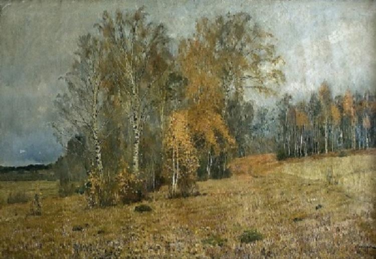 Levitan. Oktober. Herbst / Исаак Левитан - Октябрь. Осень.