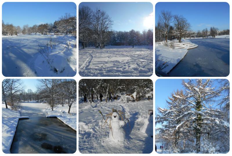 Westpark-winter