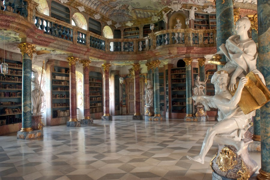 Wimblinden - Kloster Bibliothek
