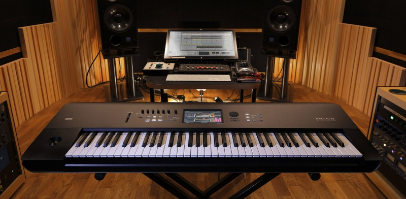 Новая музыкальная рабочая станция - Korg NAUTILUS