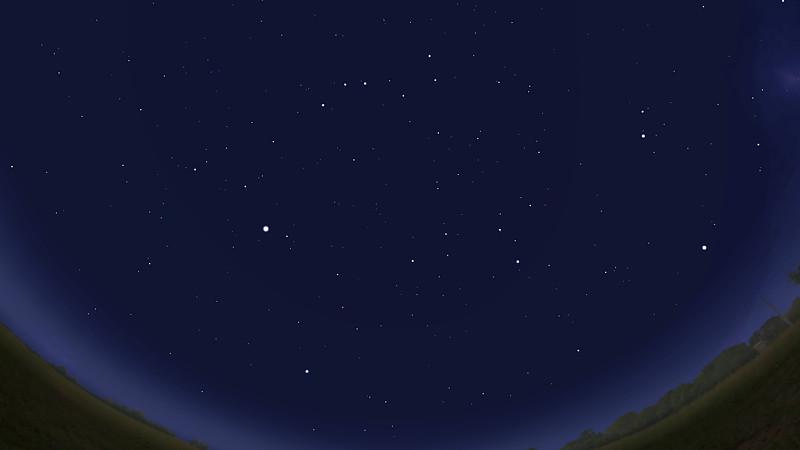 Звёздное небо марта 2019