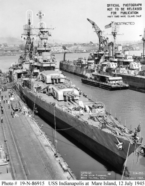 USS_Indianapolis_CA-35_Mare_Island_12_July_1945