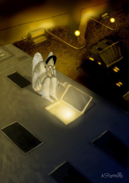 читающий ангел