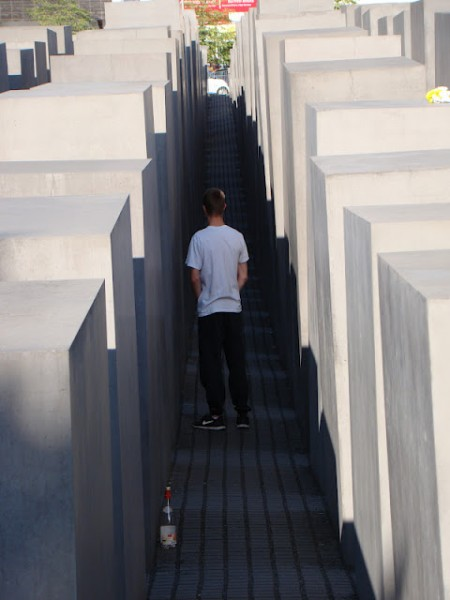 Memorial to the Murdered Jews of Europe 1