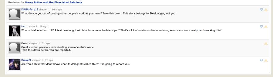 Plagiarism Screenshots — LiveJournal