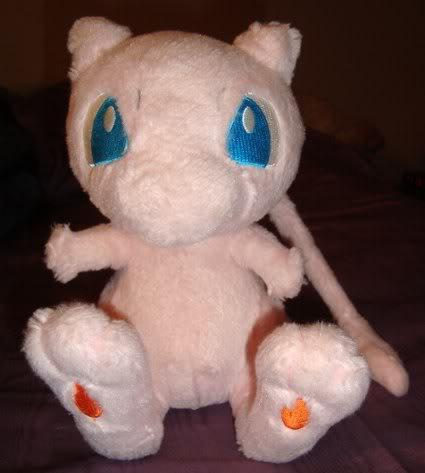 Mew Fuzzy Pokemon Center 2006