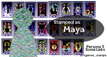 Social link persona 3 maya Maya Amano