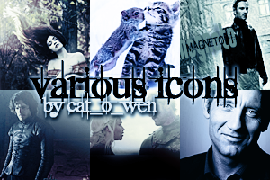 various icons banner