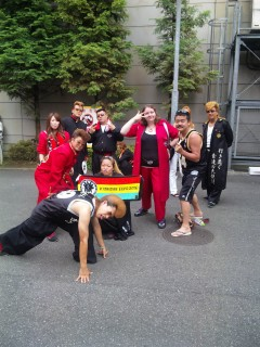 Me and some cosplayers